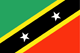 Saint Kitts och Nevis Flag