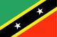 Saint Kitts och Nevis Flag